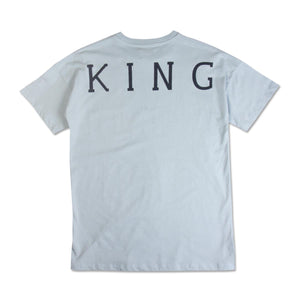 King Select T-Shirt Sky Blue Cotton Men Tee