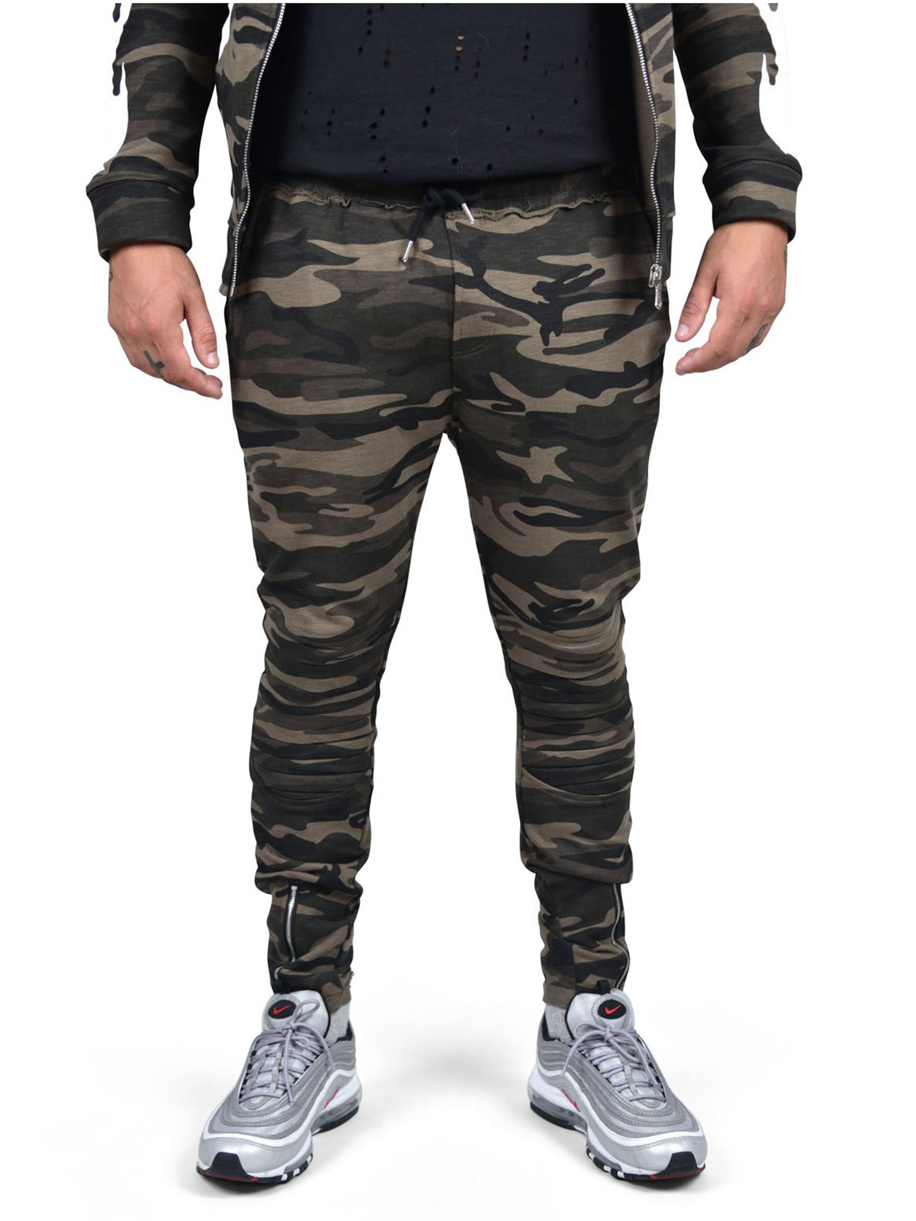 project x paris camo jogging pants