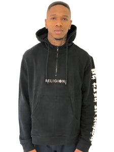 """Anarchy In The UK"" Black Hoodie by Religion, U.K. - Brit Boss"