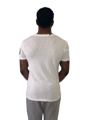 "Men T-Shirt ""Jefferson Street"" R.E White by Replay Italy - Brit Boss"