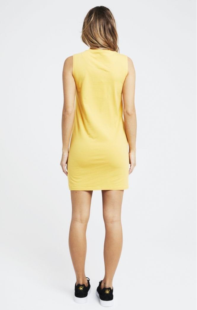 High Neck Sleeveless Dress by SikSilk