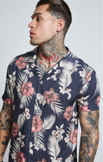 SikSilk  S/S Resort Shirt – Hazey Daze