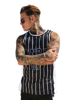 Sinners Attire Pinstripe Basketball Vest 2