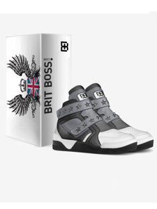 Star Boy High Tops Sneakers by Brit Boss - Brit Boss
