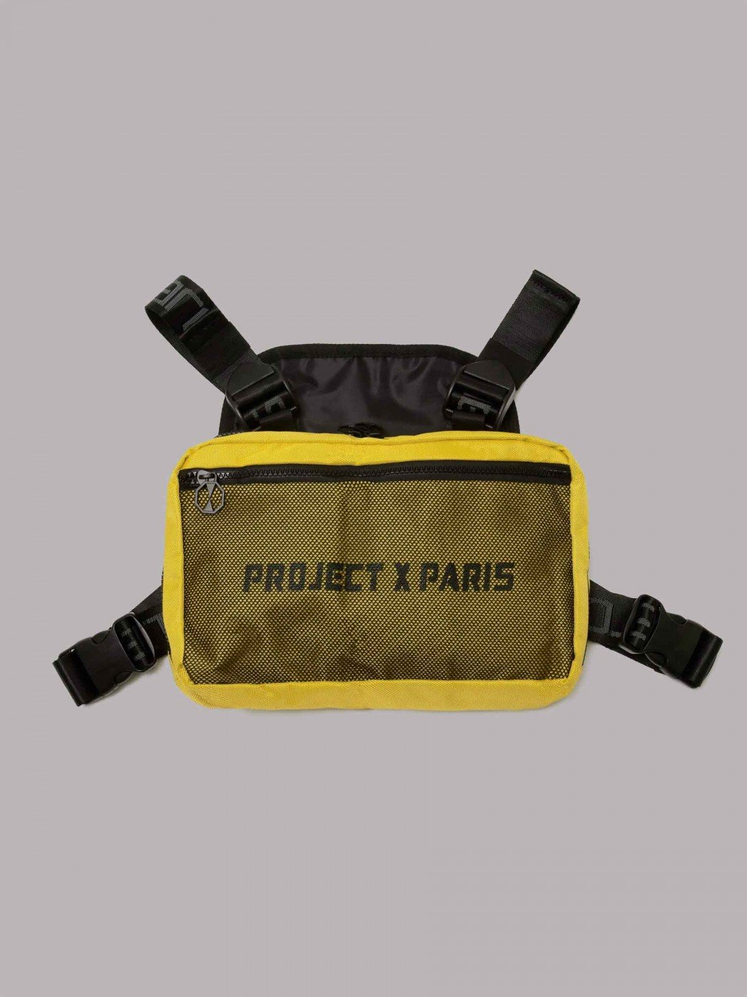 Project X Paris Utility Chest Front Body Bag Yellow