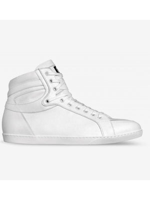 All White Brit Boss High Tops 2