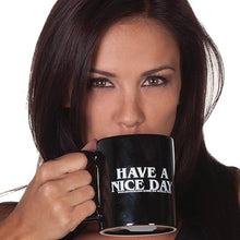 Home Use Personality Have A Nice Day  Mug Middle Finger Pattern Coffee Milk Tea Cups Wonderful Unique Gifts Ceramic Mug - Funniest mugs