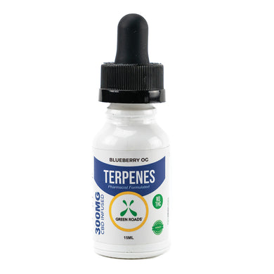 Terpenes Blueberry OG - 300mg CBD Oil - Zerep Holistics