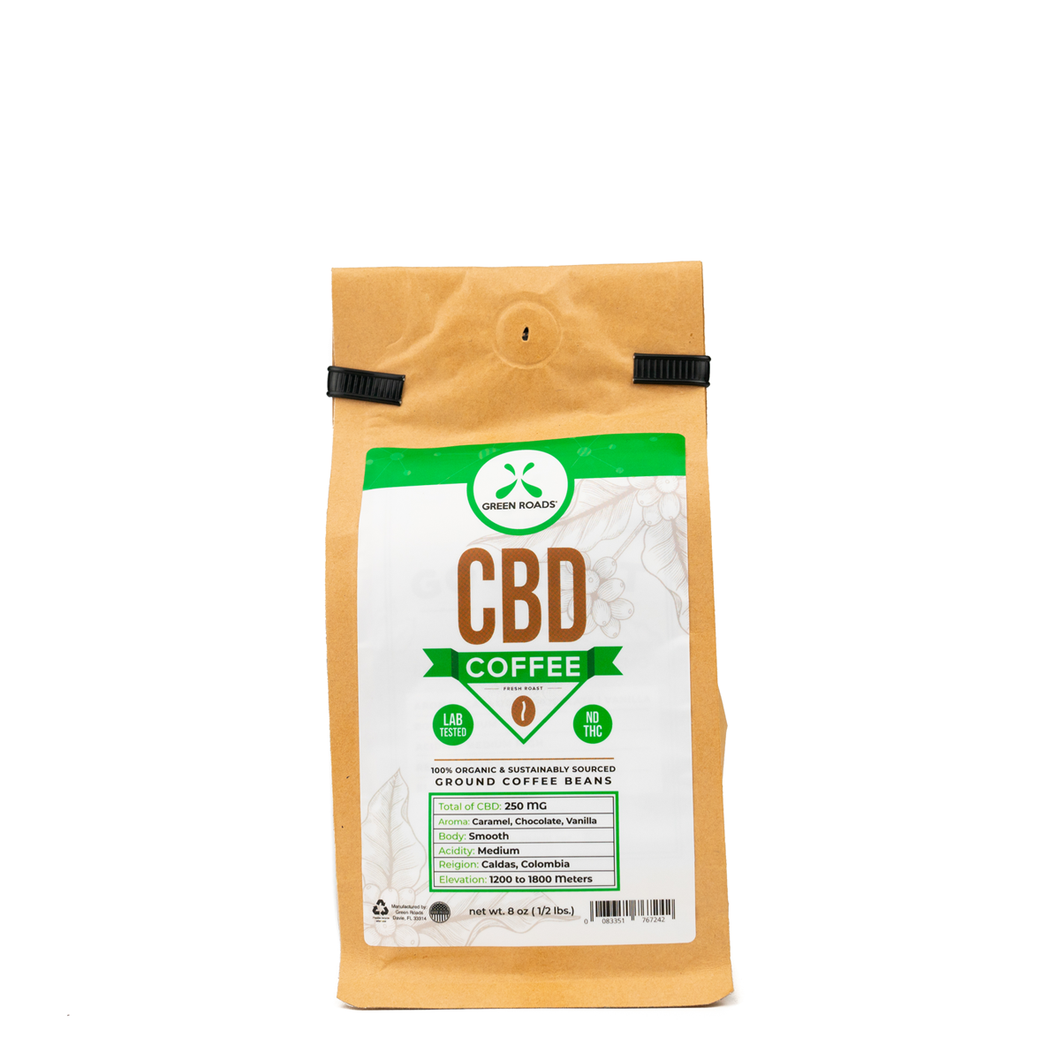 CBD Coffee 8oz (250mg CBD)