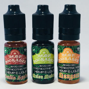 10ml CBD E-Liquid - 18mg - Zerep Holistics