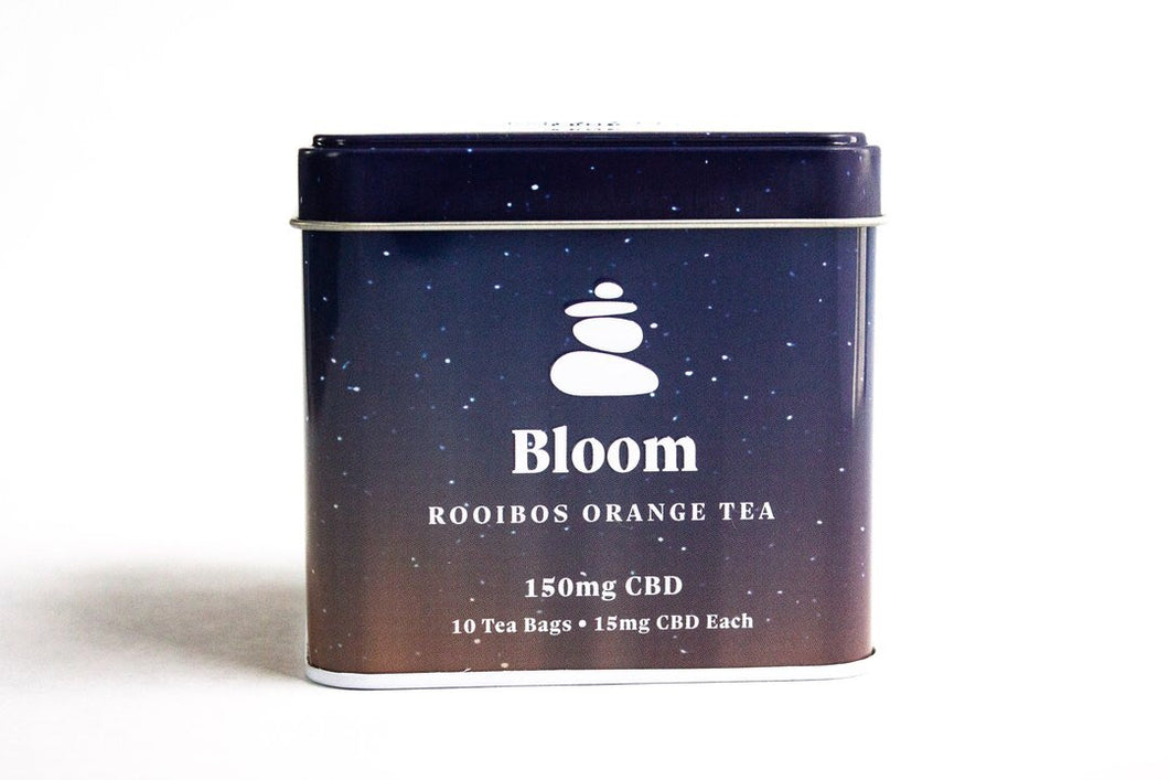 Bloom - Rooibos Orange CBD Tea 150mg CBD - Zerep Holistics