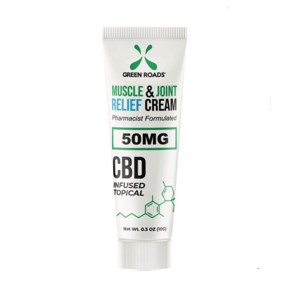 Muscle & Joint Relief Cream 50mg - CBD On The Go - Zerep Holistics