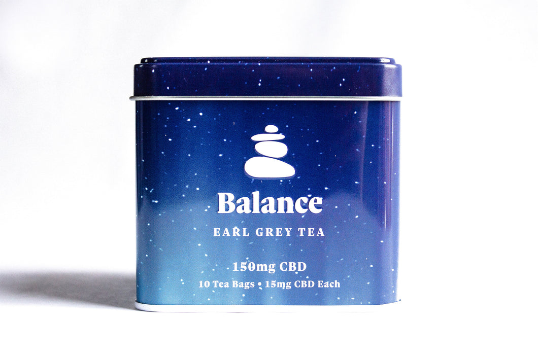 Balance - Earl Grey CBD Tea 150mg - Zerep Holistics