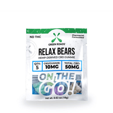 Relax Bears 50mg - CBD Gummies - Zerep Holistics