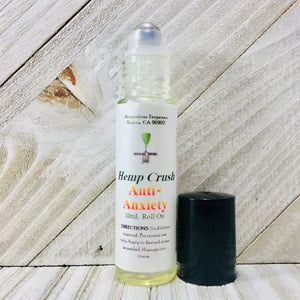Hemp Crush - Anti-Anxiety Rollerball - Zerep Holistics