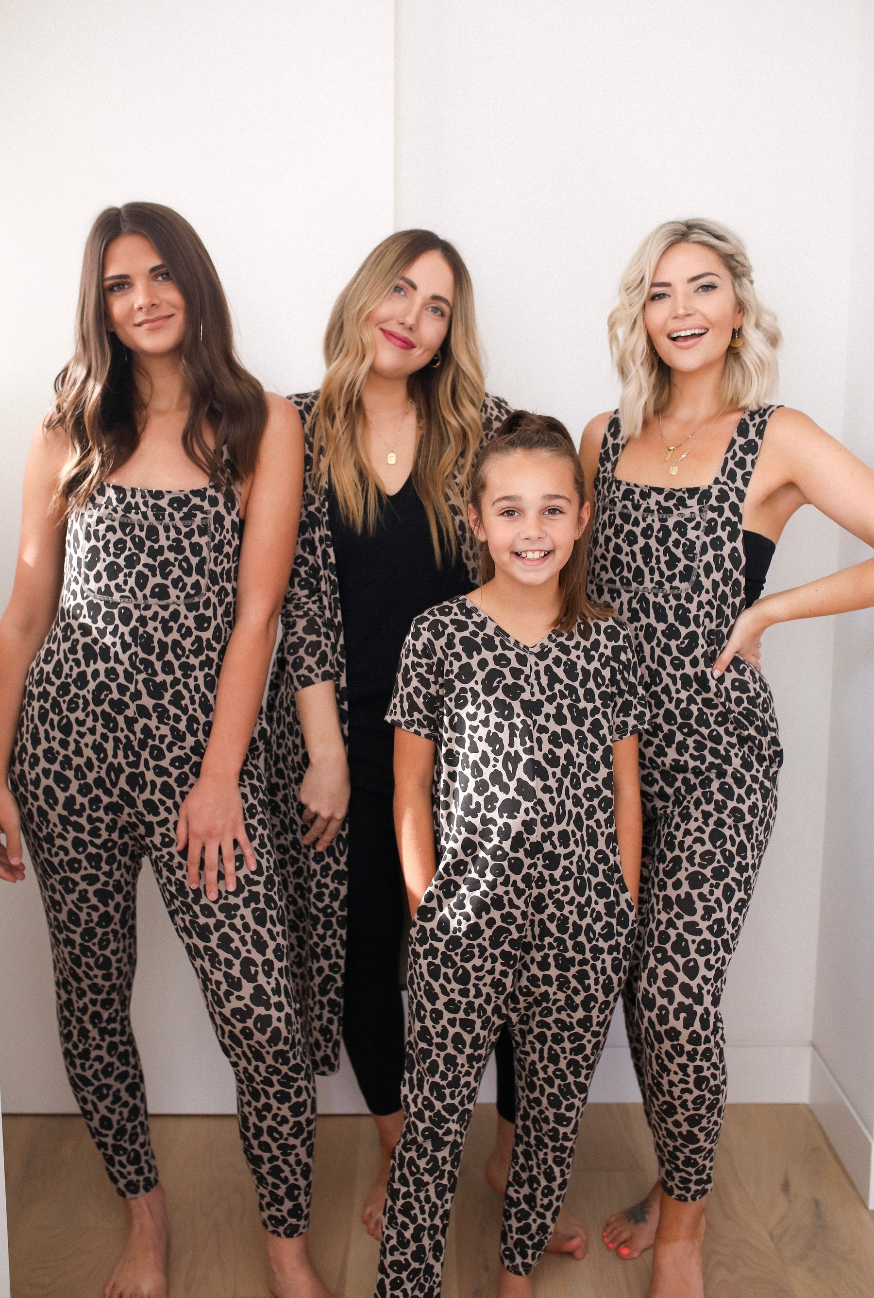 The Lexi Leopard Range of Rompers for Ladies & Kids by Smash + Tess