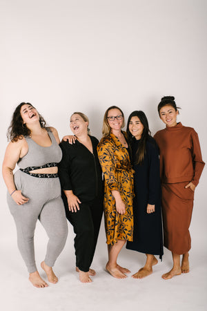 Smash + Tess Loungewear fits all body shapes and sizes!