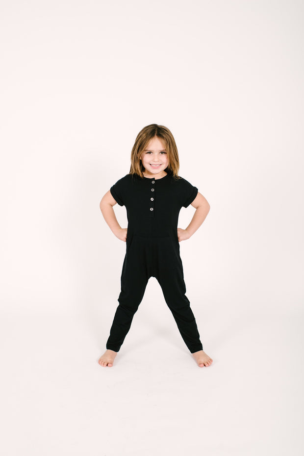 The Joey Romper | Camille is wearing size 6/7 Years