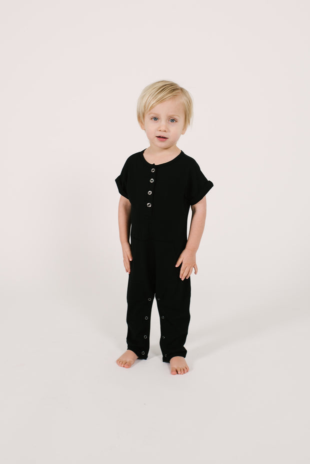 The Joey Romper | Code is wearing size 2T