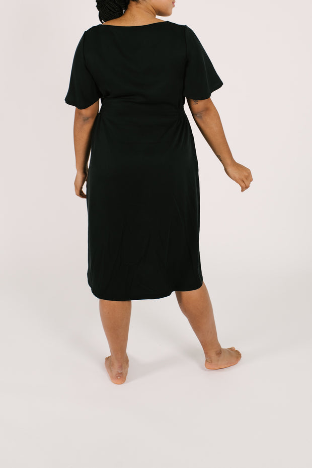 "The Jane Dress | Maya is 5'8"" wearing size Large"