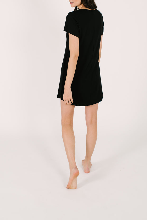 "The Shorty Dress | Asel is 5'9"" wearing a size XS"