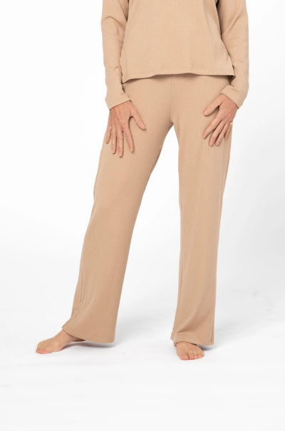 CR X S+T - THE PARK AVENUE PANTS IN CLASSIC CAMEL