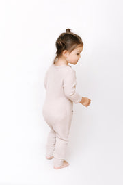 The Mini Waffle Romper | Bella is wearing size 2T