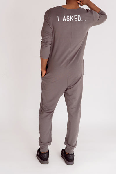 "The Guy Romper | Mamoud is 6'2"" wearing size Large"