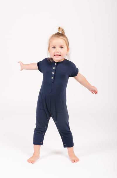 The Mini Joey Romper | Simone is wearing size 2T