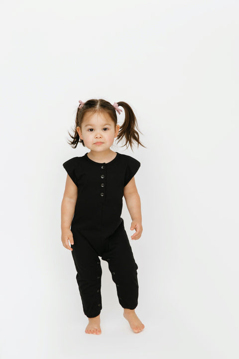 The Banks Romper | Bella is wearing size 2T