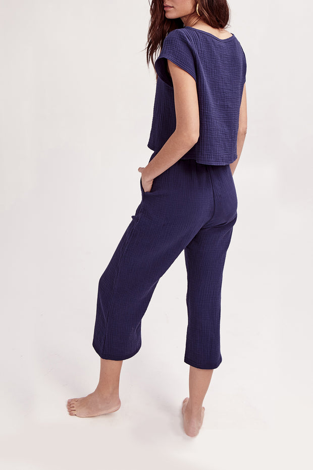 THE PLAY SET PANTS IN BILLY JEAN BLUE