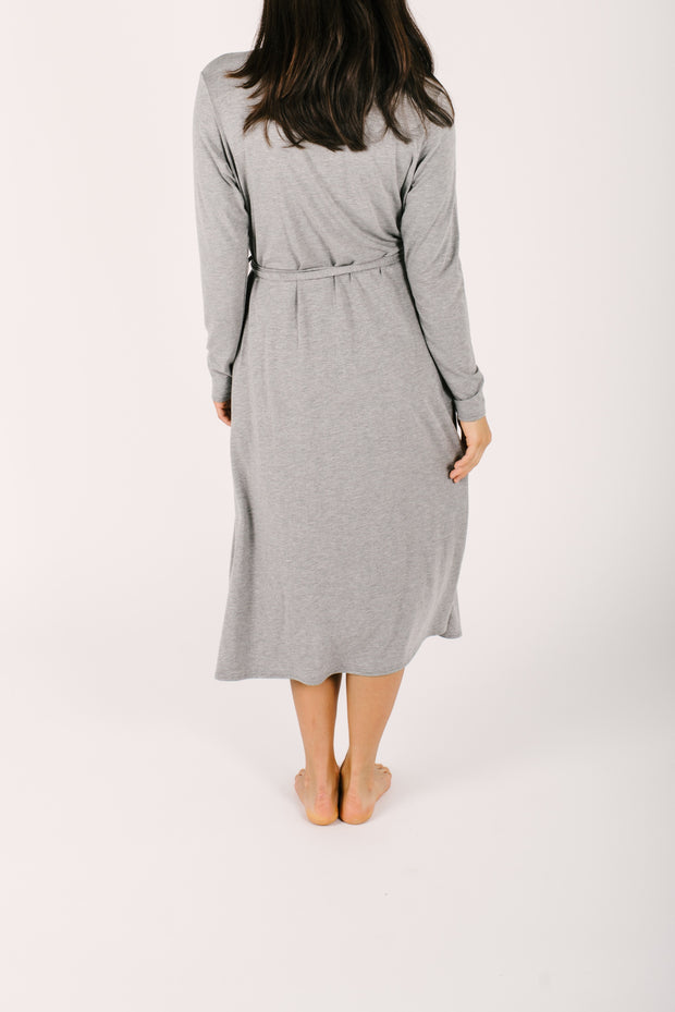 THE CARRIE CARDIROBE IN SLAY GREY