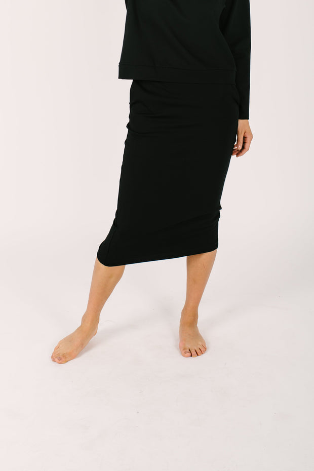 "The Audrey Skirt | Nalani is 5'8"" and wearing a Small"