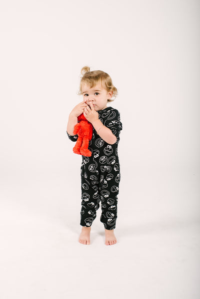 The Mini Monster Romper | Frankie is wearing 18-24m