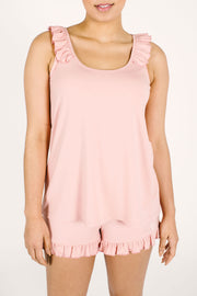 The Sweetheart Tank | Viktoria is 5'9 and wearing size M