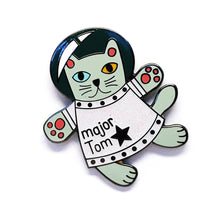 Blossom & Cat - Major Tom pin Choose Your Colour!