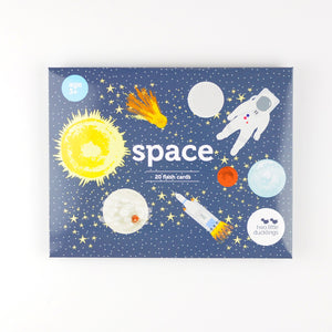 Two Little Ducklings - Space Flash Cards