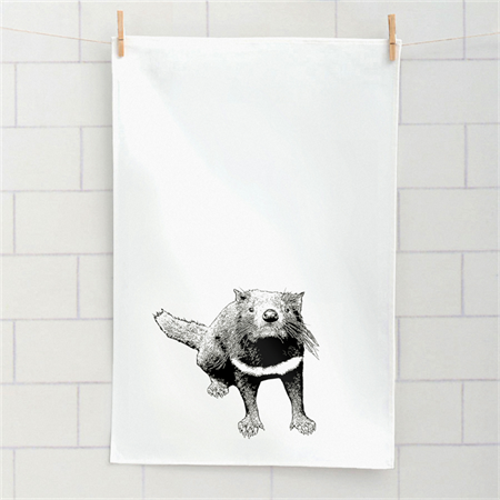 Stalley Tasmanian Devil tea towel