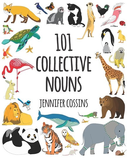 Red Parka (Jen Cossins) - 101 Collective Nouns