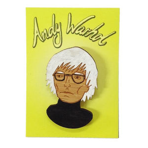 Milk Thieves - Andy Warhol Brooch
