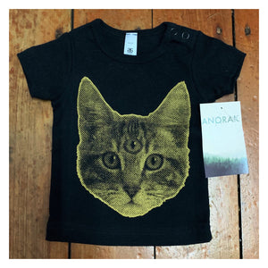 """Meow""© T-shirt for babies/toddlers by Anorak®"