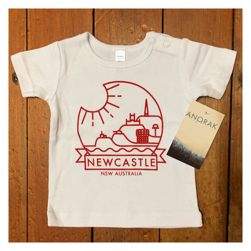 """Newy""© T-shirt for babies/toddlers by Anorak®"