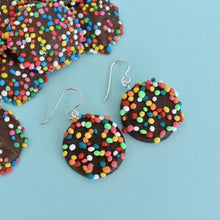 Saturday Lollipop - food earrings - Freckle Dangly Earrings