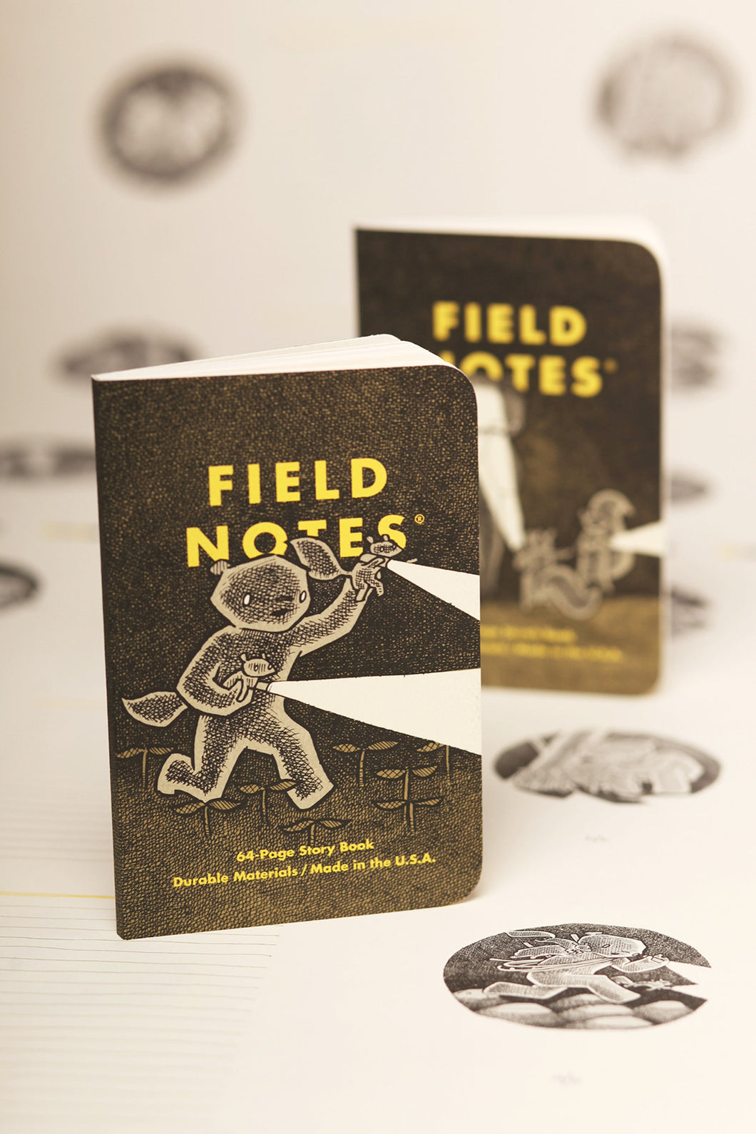 Field Notes - Haxley ILLUSTRATED STORY BOOK & A SKETCH BOOK