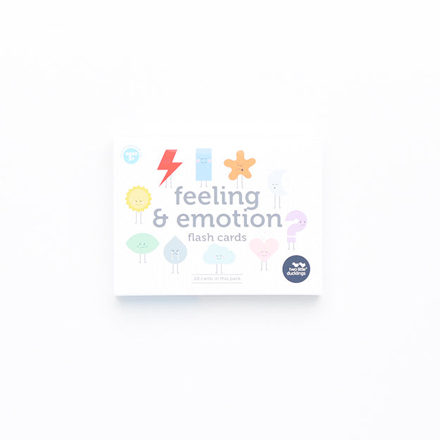 Two Little Ducklings - Feeling and Emotion Flash Cards