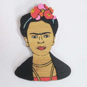 Milk Thieves - Frida Kahlo brooch