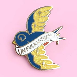Jubly Umph -  Unfuckwithable Lapel Pin