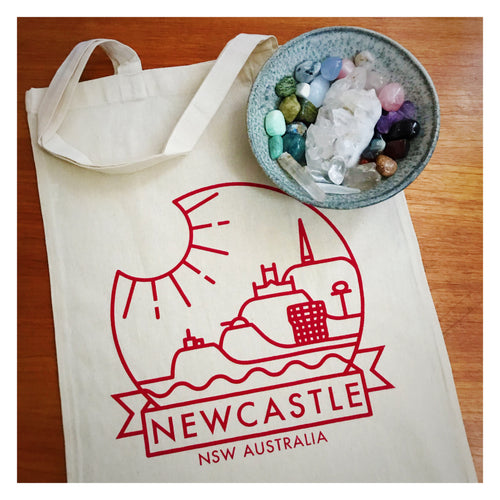Newcastle Tote© by Anorak® *Second edition with NCC Admin building*