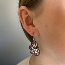 Smyle Designs - B&W Butterfly Earrings