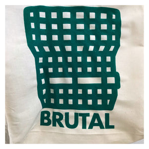 """Brutal""© by Anorak Design® - calico shopping tote"